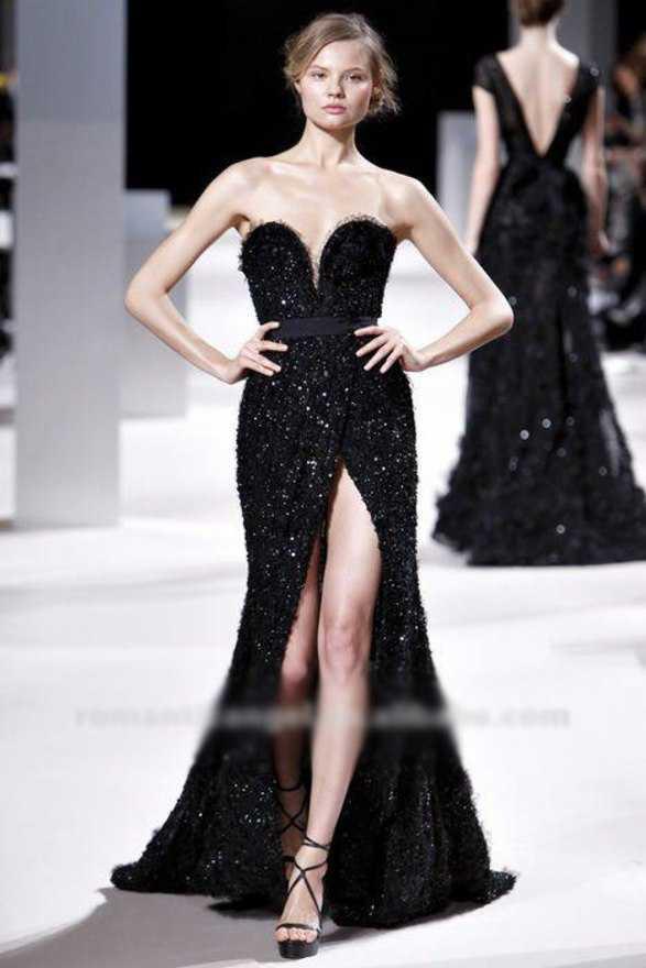 Черное Платье От Кутюр